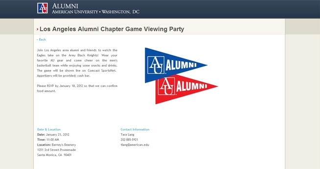 Los Angeles Alumni Chapter Page